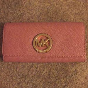 Rose Pink Michael Kors wallet